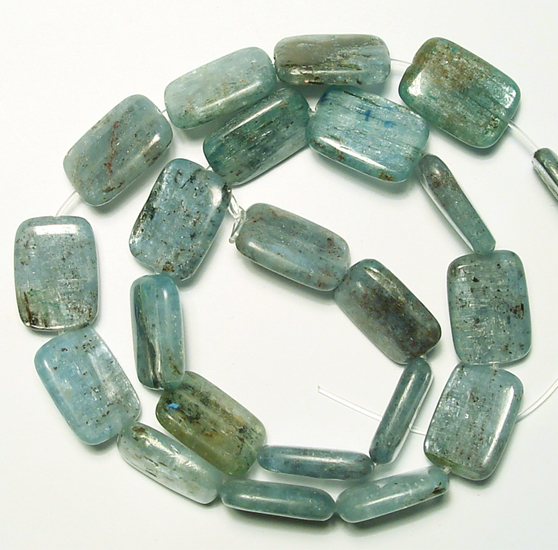 rectangle kyanite beads