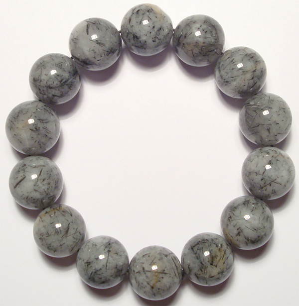 black tourmalated quartz bracelet